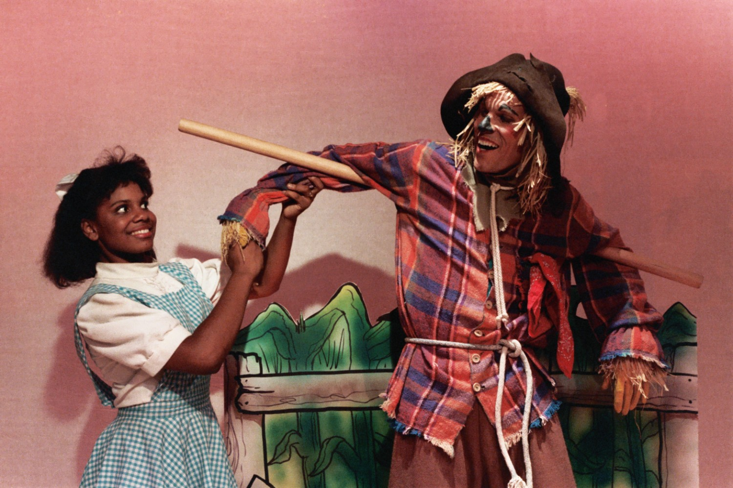 Audra McDonald & Steve Pepper: The Wiz, 1987.