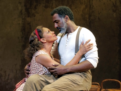 "Audra McDonald and Norm Lewis in ""Porgy and Bess"" for which she won her 5th Tony."