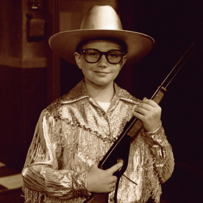"Chris Colfer in ""A Christmas Story"" at GCP's 2nd Space Theatre, 2002"