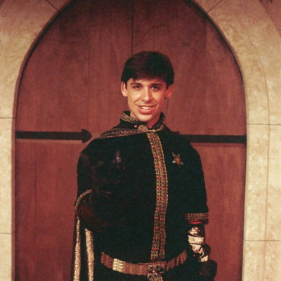 Eric Bishop in CAMELOT, 1990
