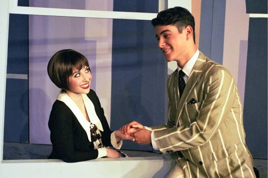 Emily Pessano & Michael Willet in Good Company Players' 2007 production of THOROUGHLY MODERN MILLIE.